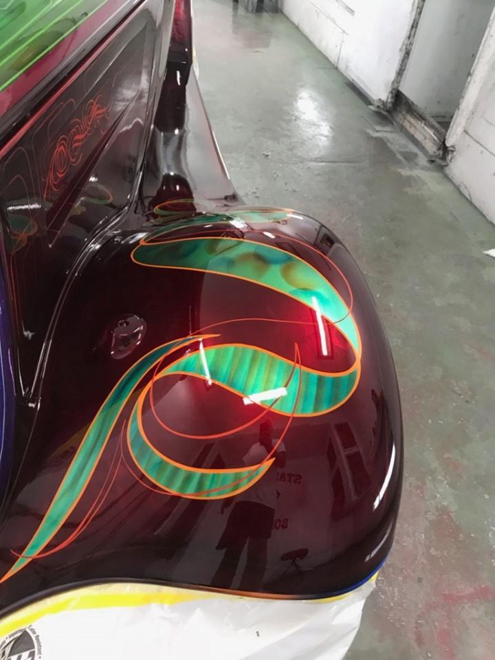 auto's crazy paint - peinture de fou sur carrosseries 62195510