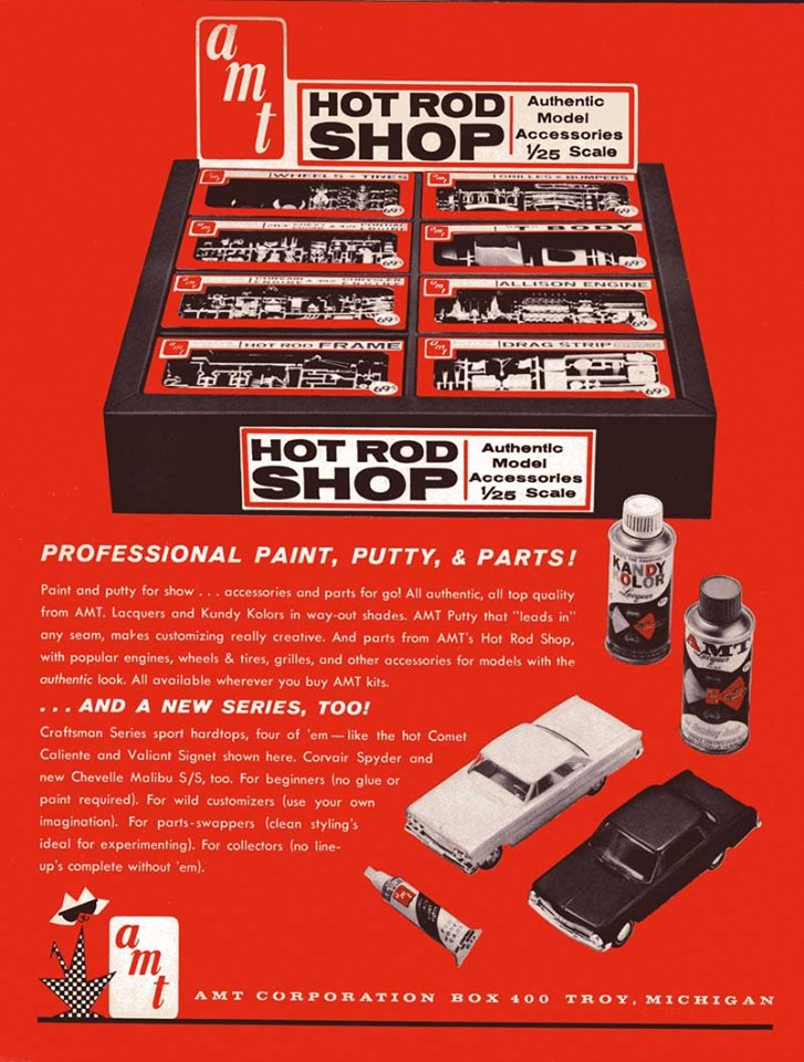 Vintage model kit ad - publicité - Page 3 62200210