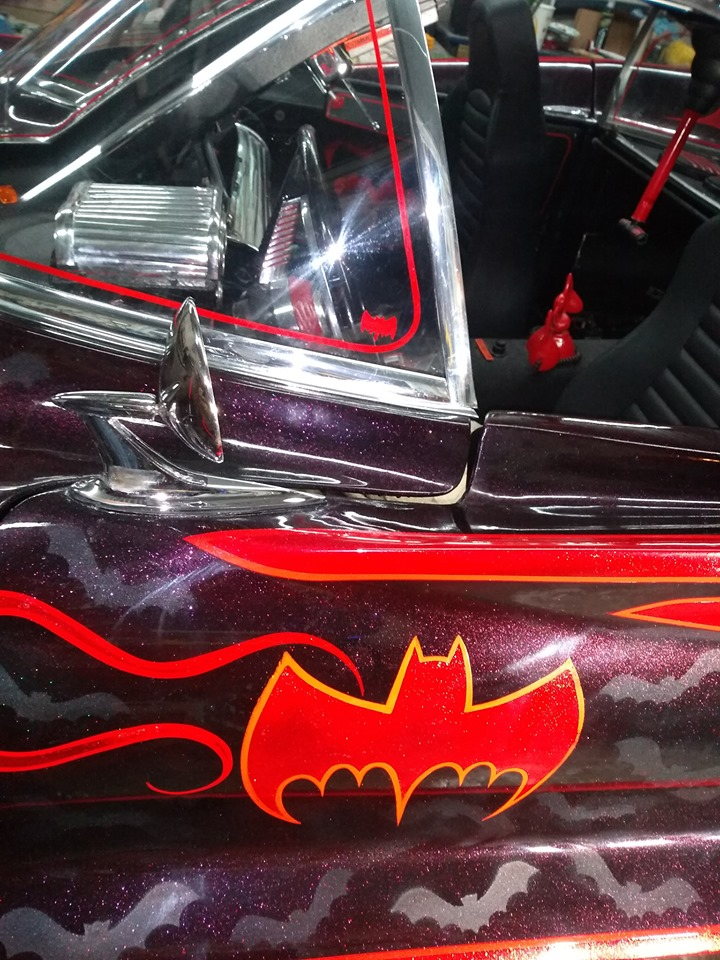 Batmobile with custom painting by Eric Ericsson 62476110