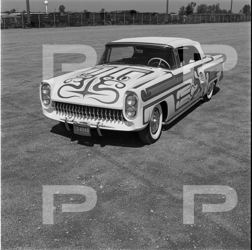 1956 Mercury - Adrienne Hooper - Larry Cooper - Cooper Body Shop  62708010