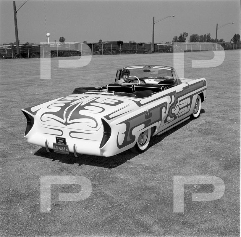1956 Mercury - Adrienne Hooper - Larry Cooper - Cooper Body Shop  62712210