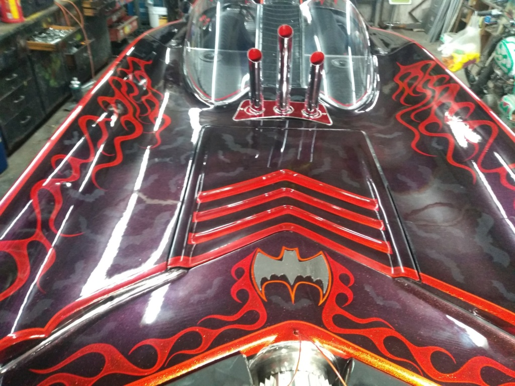 Batmobile with custom painting by Eric Ericsson 64231410
