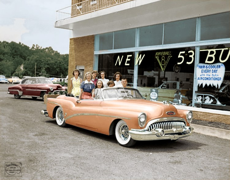 B & W Classic cars and vintage pics colorized by Imbued with hues 64237410