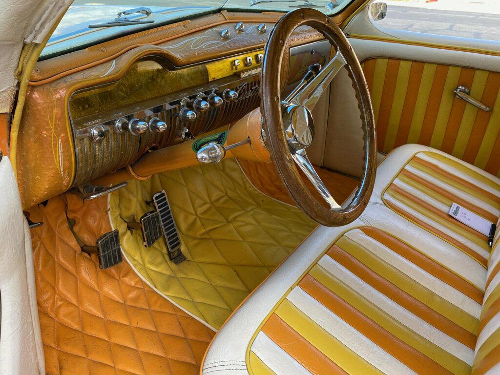 "1951 Mercury Custom Sedan BUILT BY HALL OF FAME KUSTOMIZER FRANK DE ROSA  INDUSTRY KNOWN AS ""MERCURY 4"" 643"