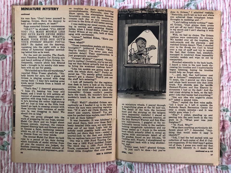 Rod and Custom Magazine - February 1961 - R & C in miniature 64466110