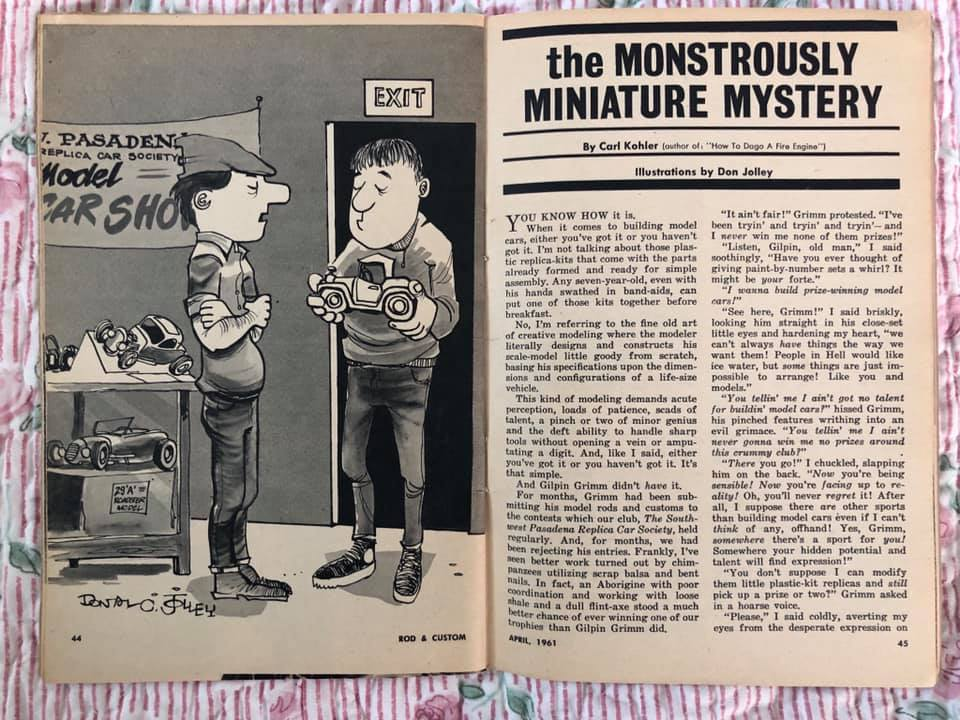 Rod and Custom Magazine - February 1961 - R & C in miniature 64539910