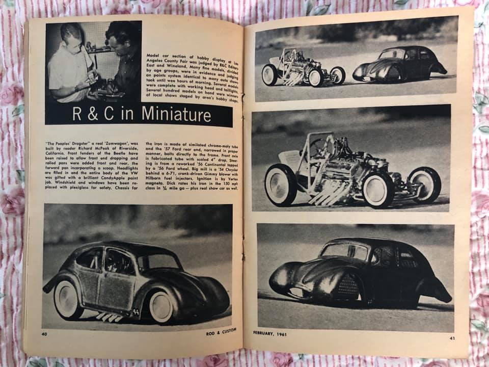 Rod & Custom - Febuary 1961- Rod & Custom in mniature 64550510