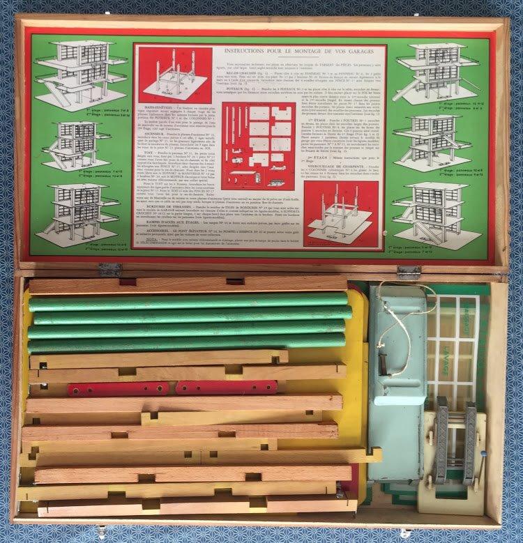 Garage Moderne : Jeu de construction années 50 - pour plusieurs modèles de garage 64662310