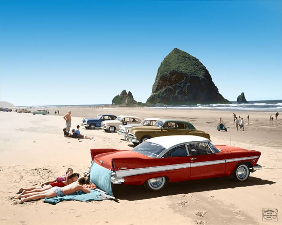 B & W Classic cars and vintage pics colorized by Imbued with hues 64675010