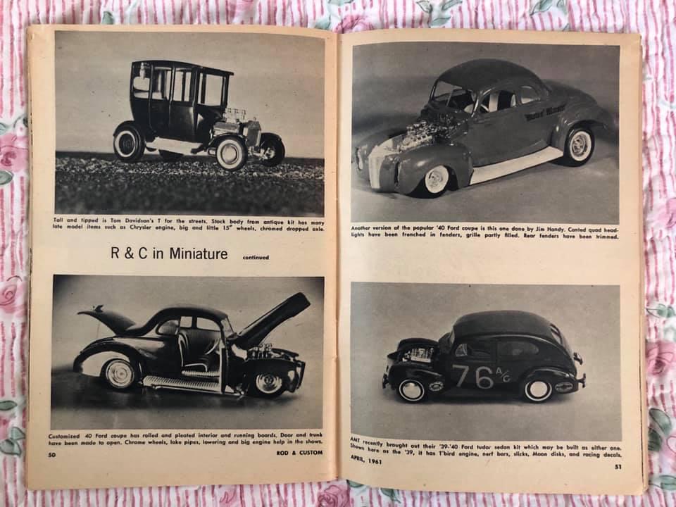 Rod and Custom Magazine - February 1961 - R & C in miniature 64733110