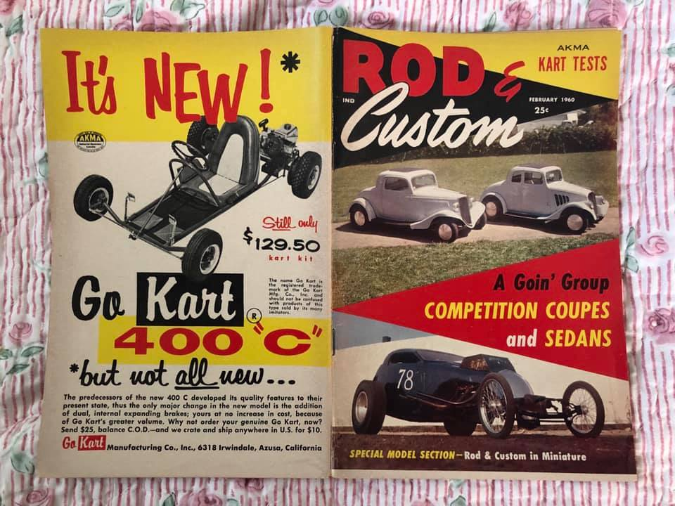 Rod & Custom - Febuary 1961- Rod & Custom in mniature 64739210