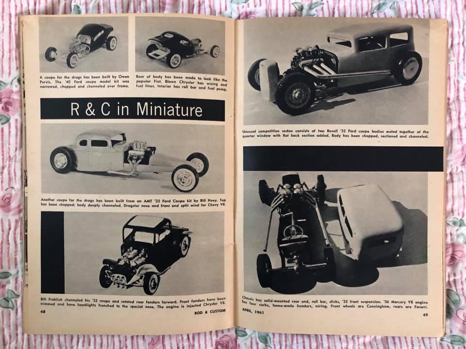 Rod and Custom Magazine - February 1961 - R & C in miniature 64781910