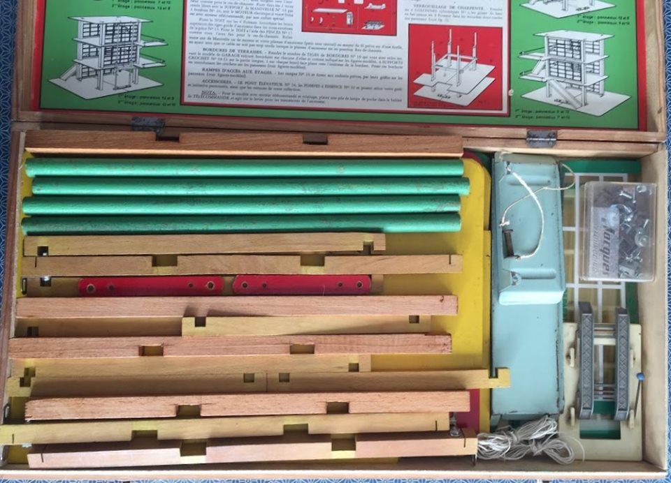 Garage Moderne : Jeu de construction années 50 - pour plusieurs modèles de garage 64910510