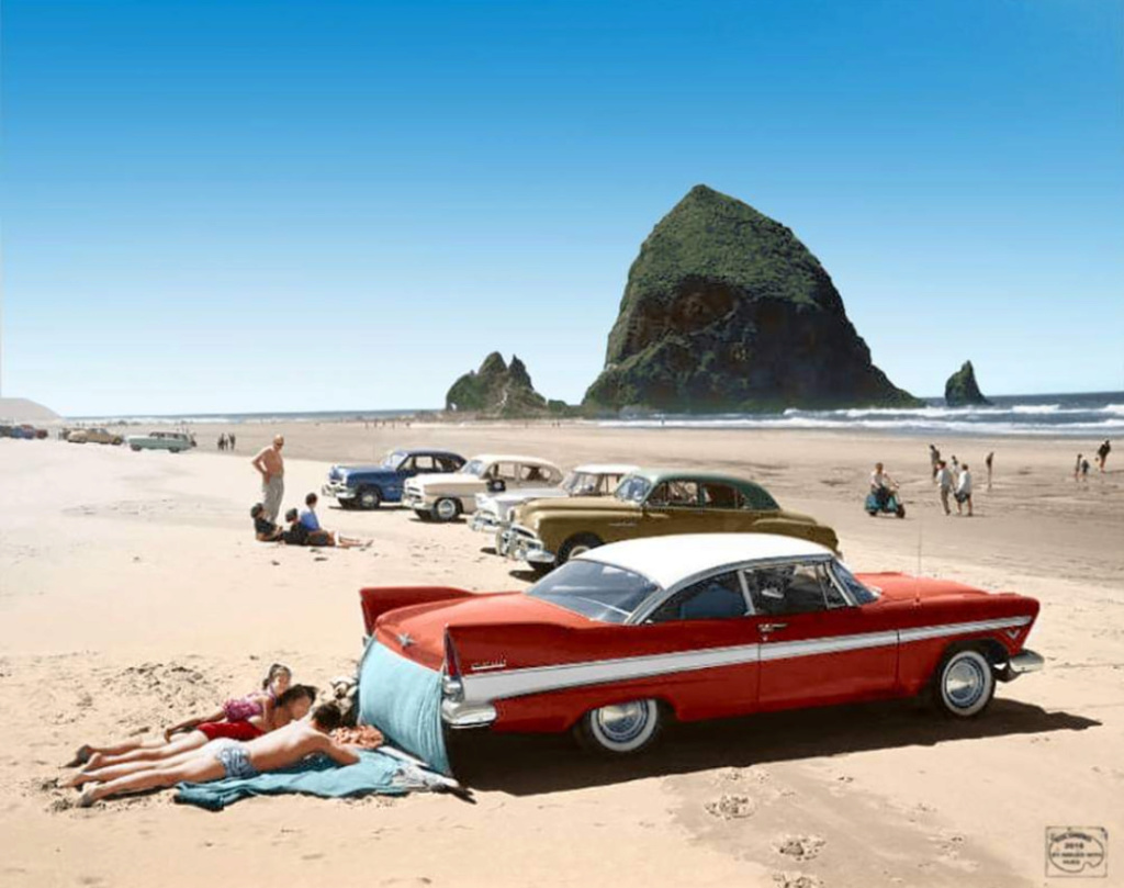 fifties & early sixties cars in situation - Vintage pics - Page 2 65384910