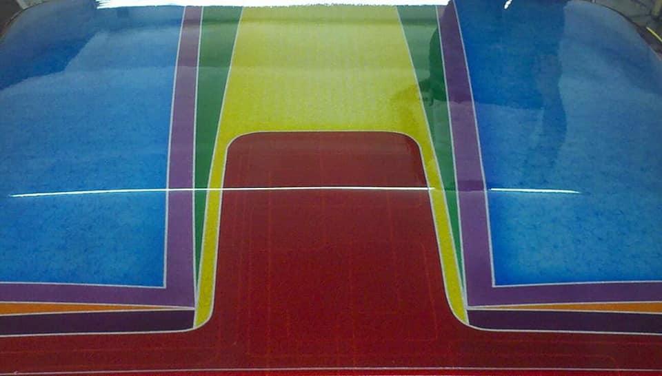 auto's crazy paint - peinture de fou sur carrosseries - Page 2 65593610
