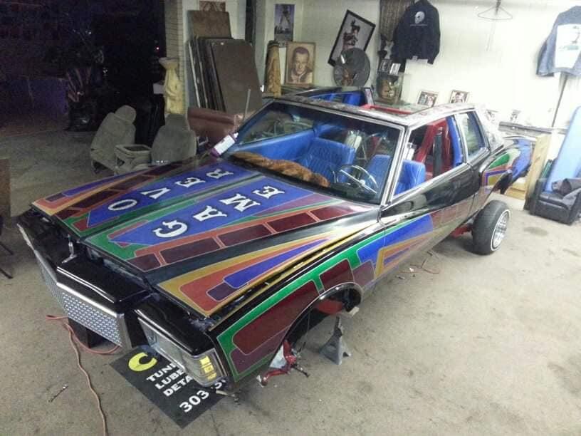 auto's crazy paint - peinture de fou sur carrosseries 65651110