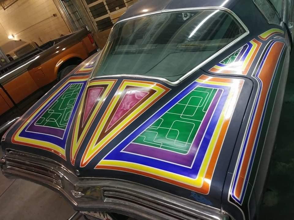 auto's crazy paint - peinture de fou sur carrosseries 65672510