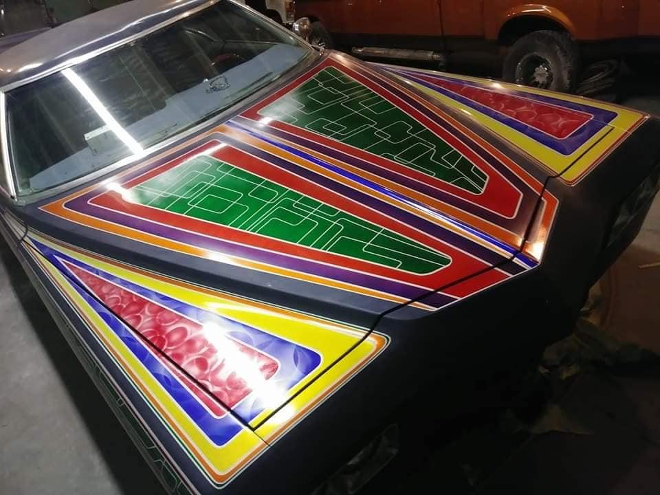 auto's crazy paint - peinture de fou sur carrosseries 66009110