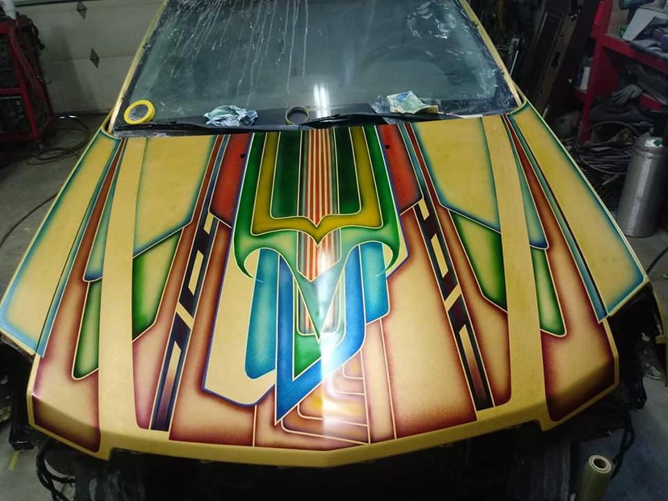 auto's crazy paint - peinture de fou sur carrosseries - Page 2 66069011