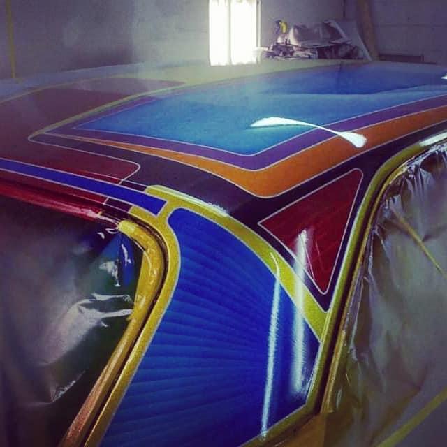 auto's crazy paint - peinture de fou sur carrosseries - Page 2 66162710