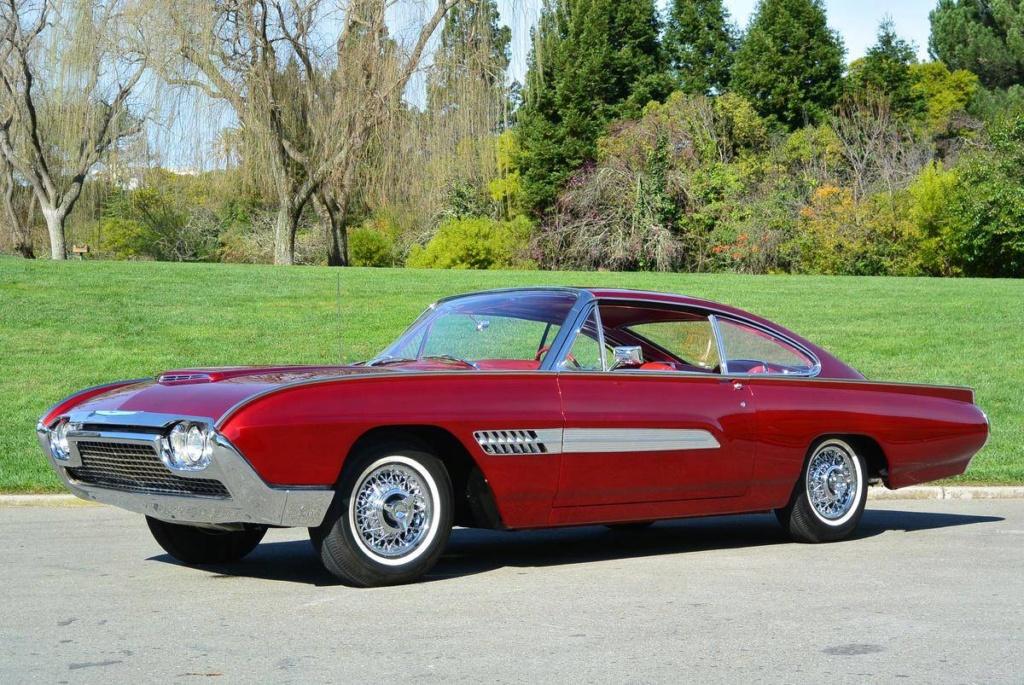 1963 Ford Thunderbird Italien Fastback Concept Car 66523710