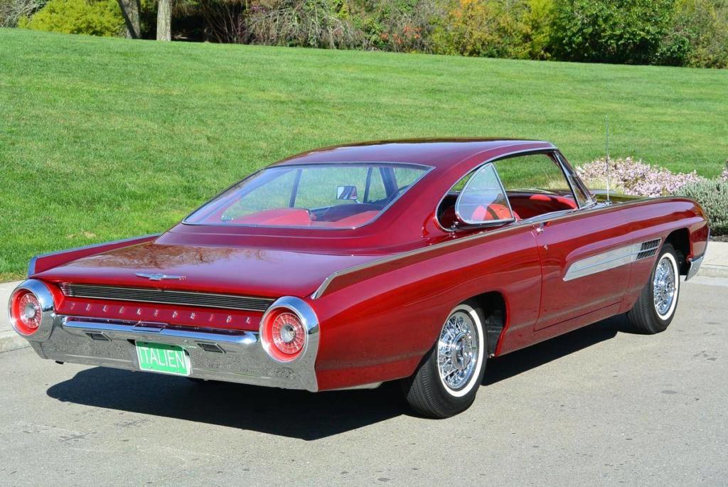 1963 Ford Thunderbird Italien Fastback Concept Car 66523711