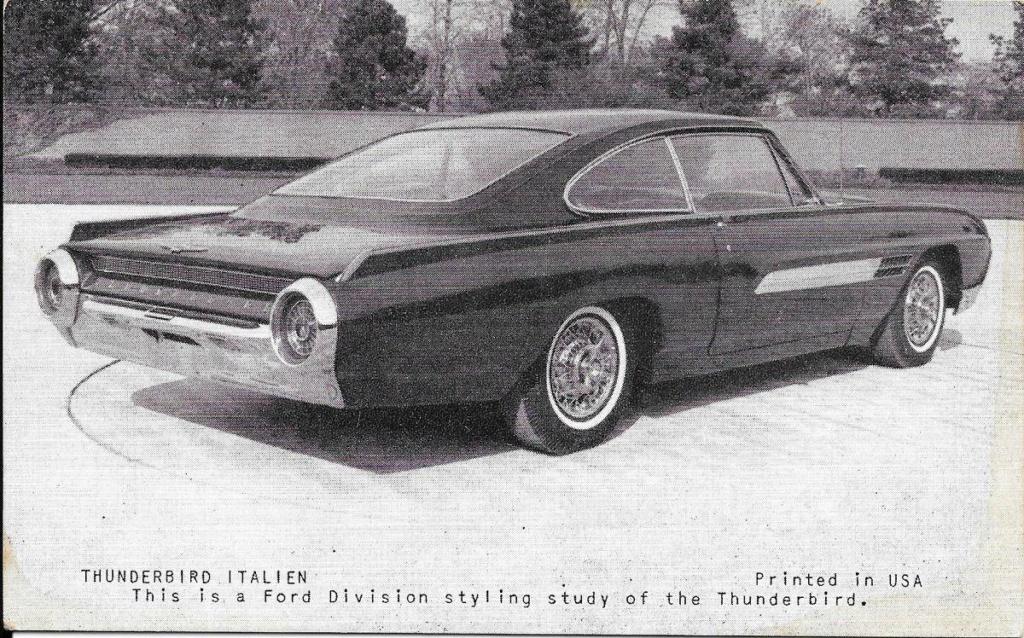 1963 Ford Thunderbird Italien Fastback Concept Car 66523911