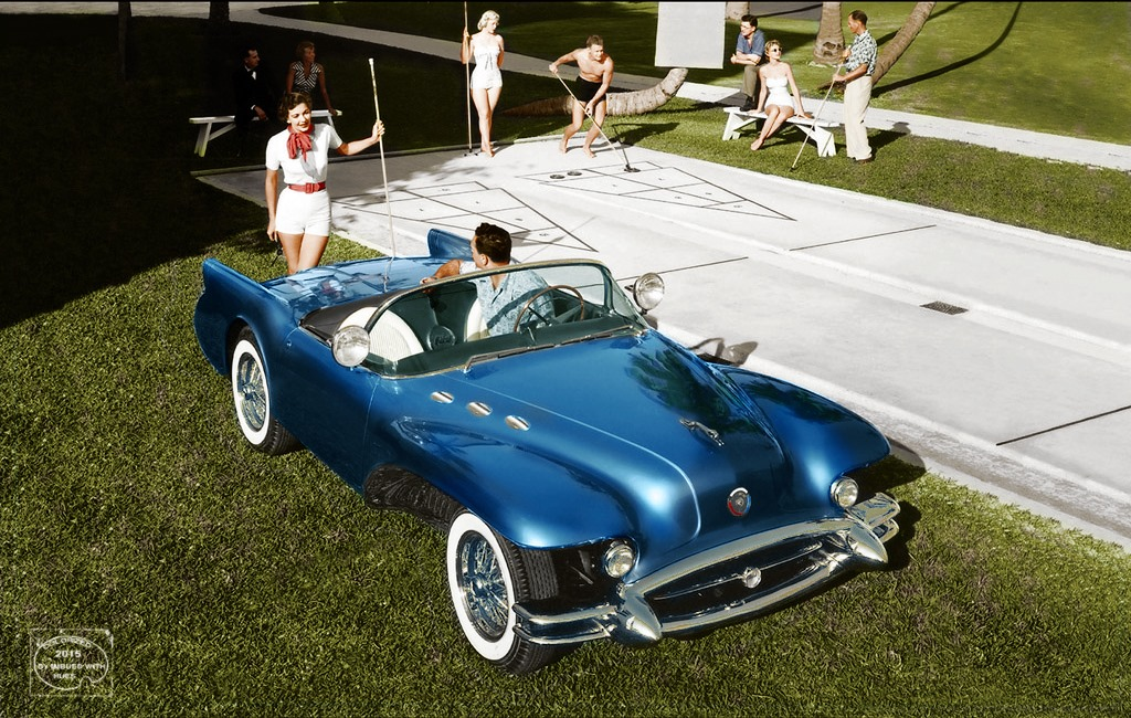 B & W Classic cars and vintage pics colorized by Imbued with hues 66909410