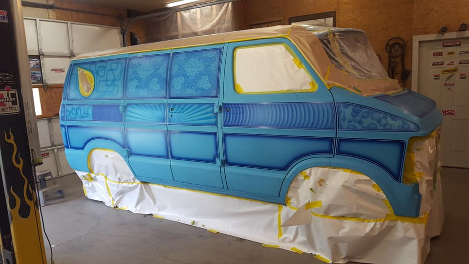 auto's crazy paint - peinture de fou sur carrosseries - Page 2 67401610