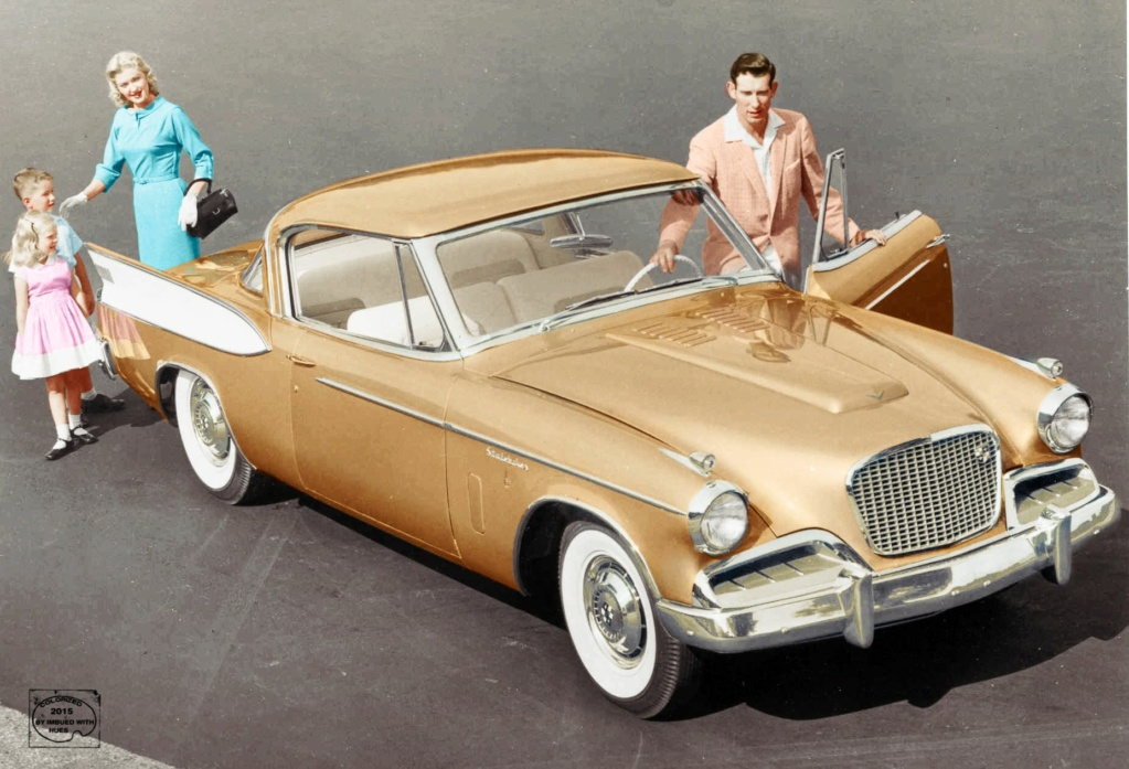 B & W Classic cars and vintage pics colorized by Imbued with hues 67773910