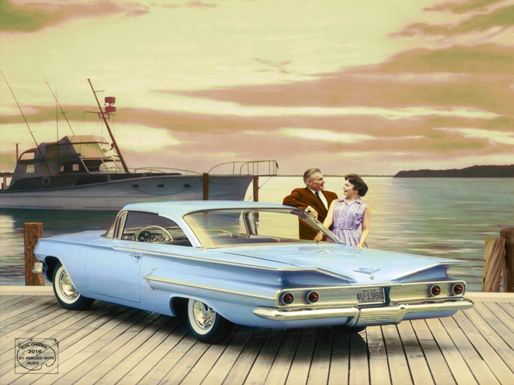 B & W Classic cars and vintage pics colorized by Imbued with hues 69576510
