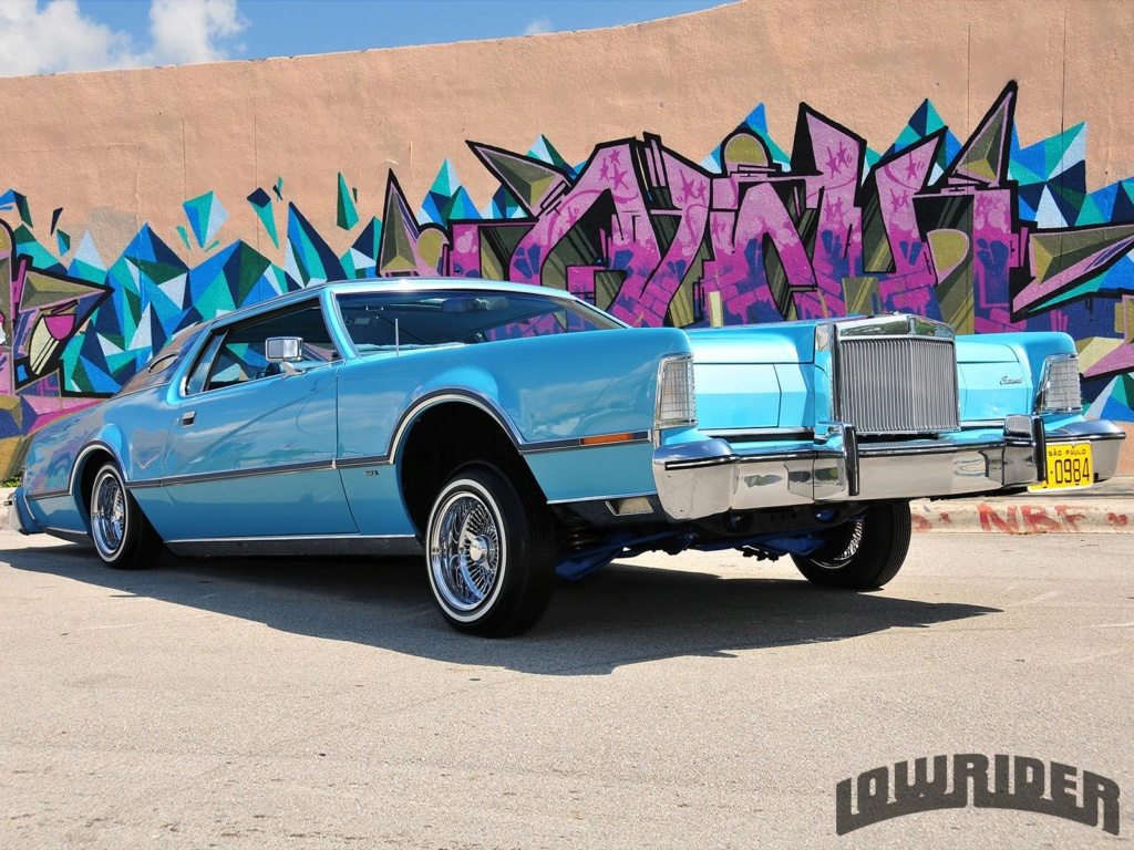 Lincoln Continental Mark 3, 4 & 5 Low Rider 71315010