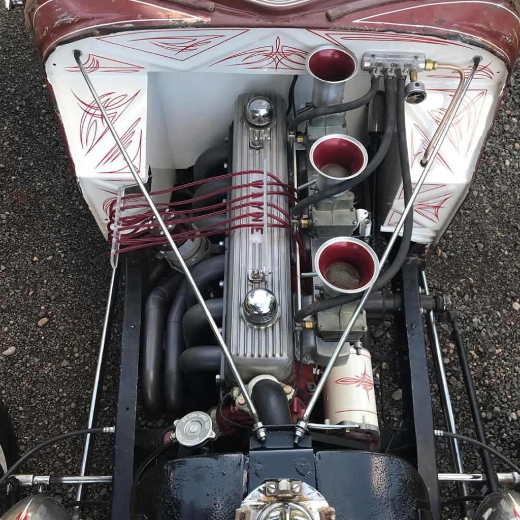 1934 Ford 5 windows Dragster - Dirty 4 - Flat Trap Racing 71779010