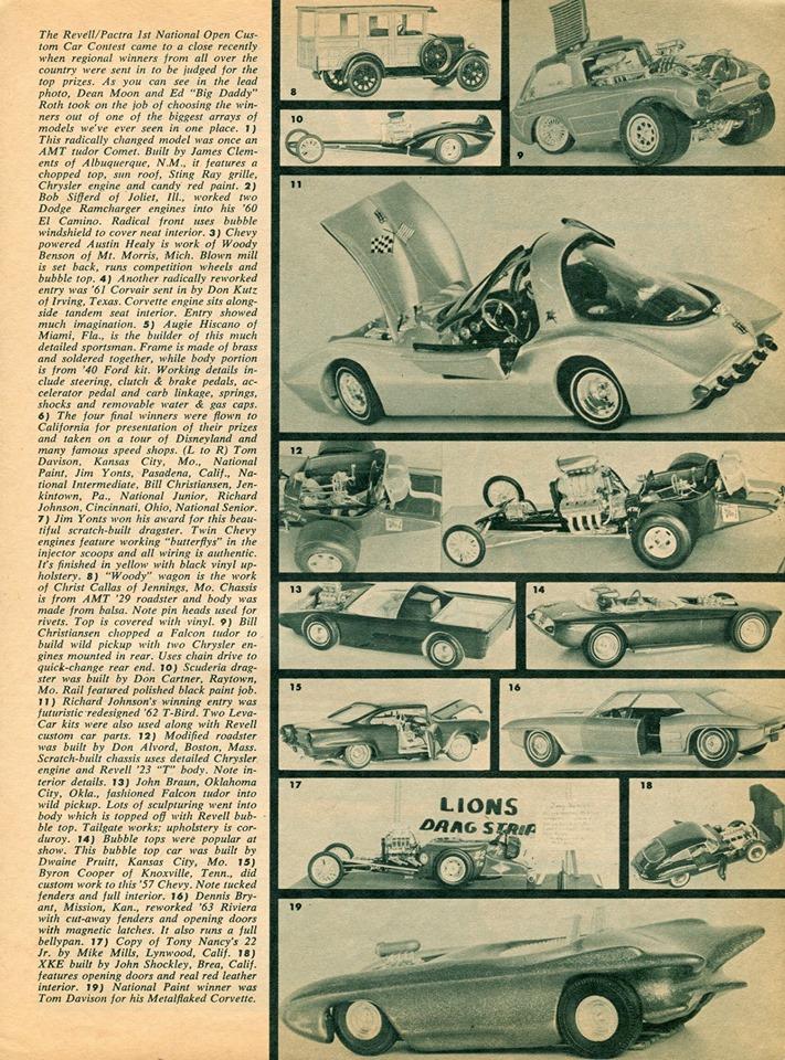 Vintage built automobile model kit survivor - Hot rod et Custom car maquettes montées anciennes - Page 14 71936310