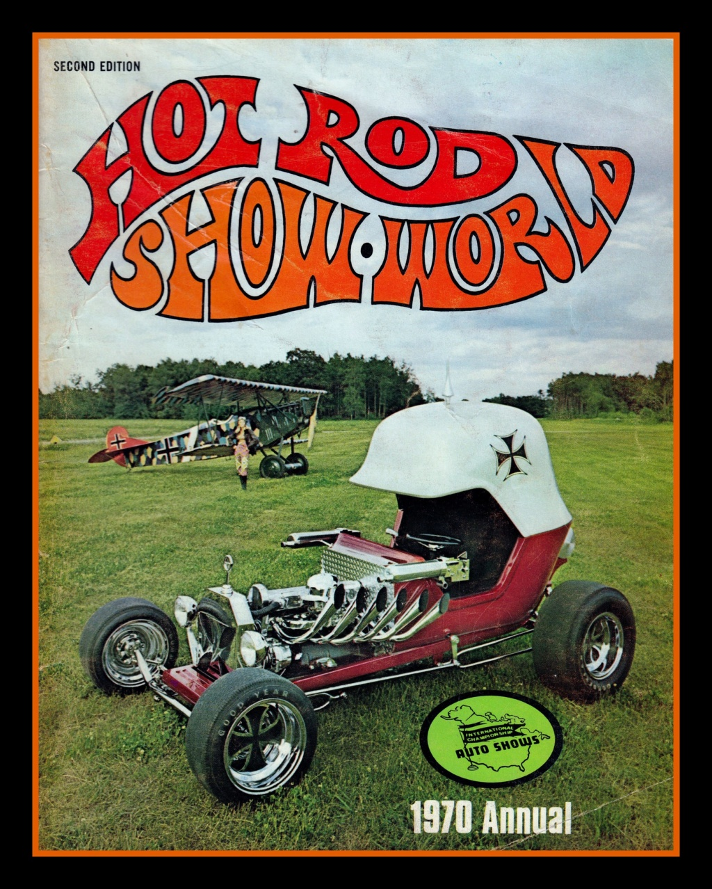 Hot Rod Show World Program, 1970 73599110