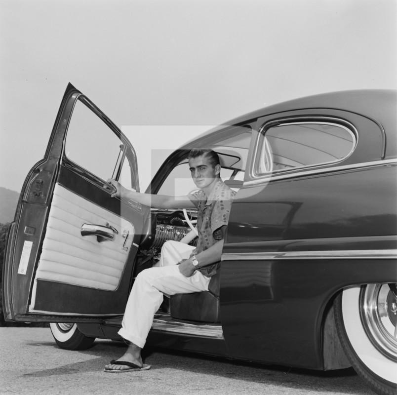 1950 Mercury - Blue Mirage - Sonny Morris built by Joe Bailon 76869410