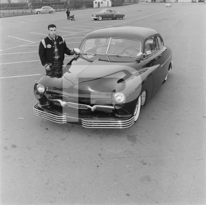 1950 Mercury - Blue Mirage - Sonny Morris built by Joe Bailon 77810510