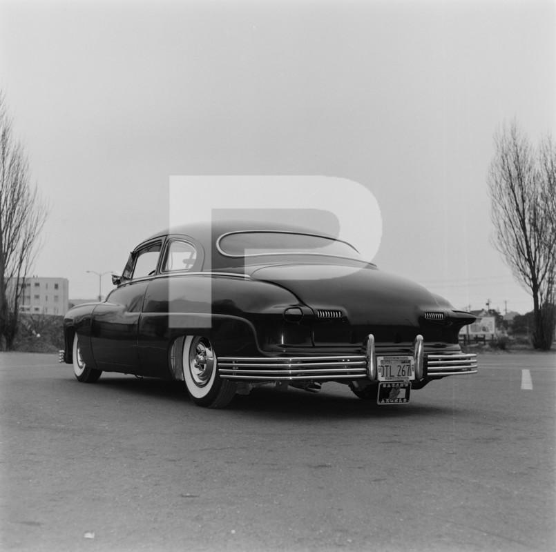 1950 Mercury - Blue Mirage - Sonny Morris built by Joe Bailon 77811010