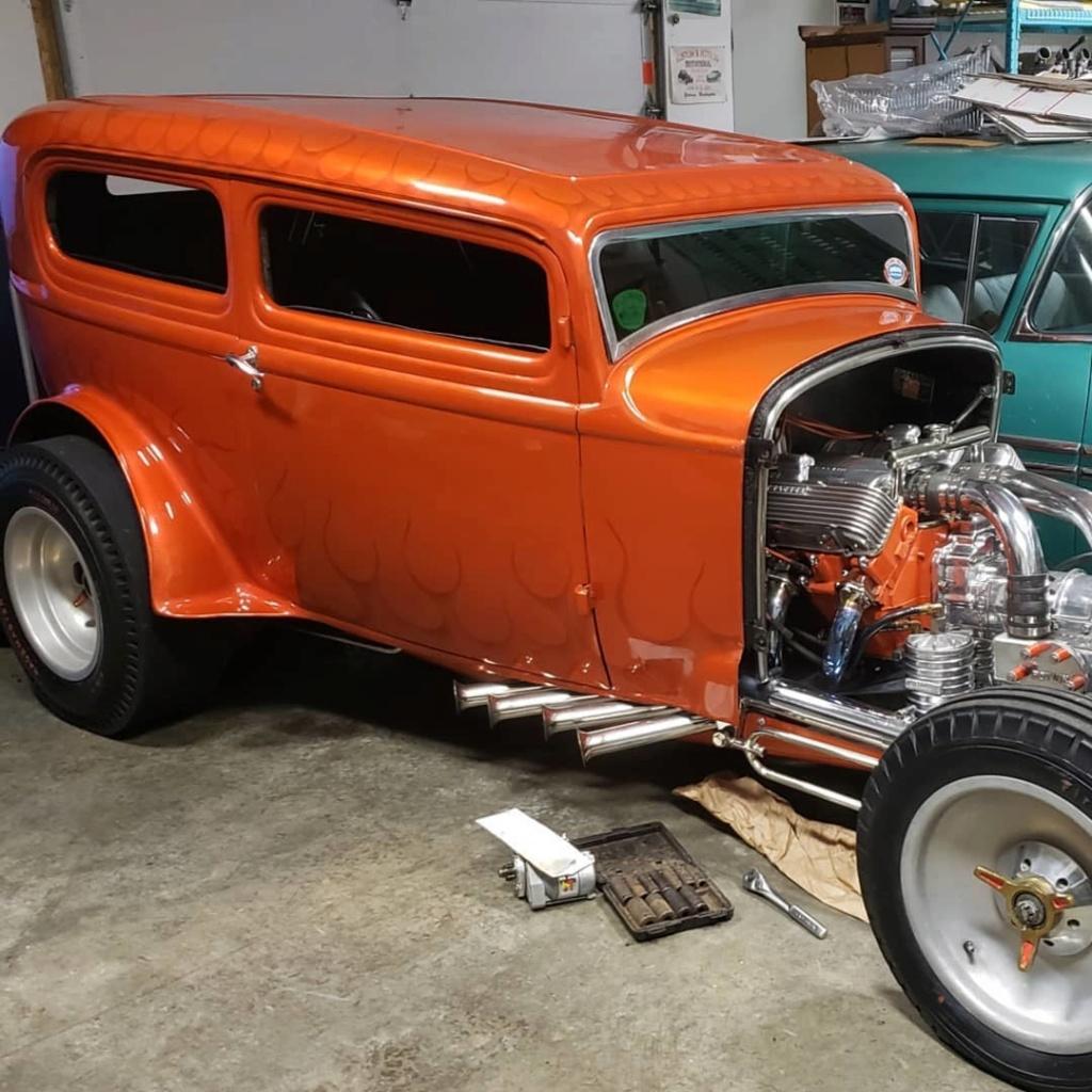 Orange Crate - 1932 Ford Sedan dragster 80605410