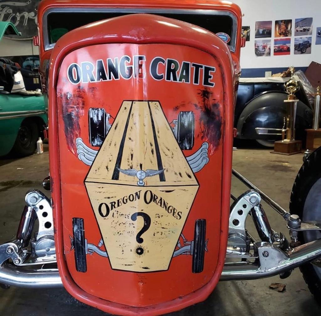 Orange Crate - 1932 Ford Sedan dragster 81055710