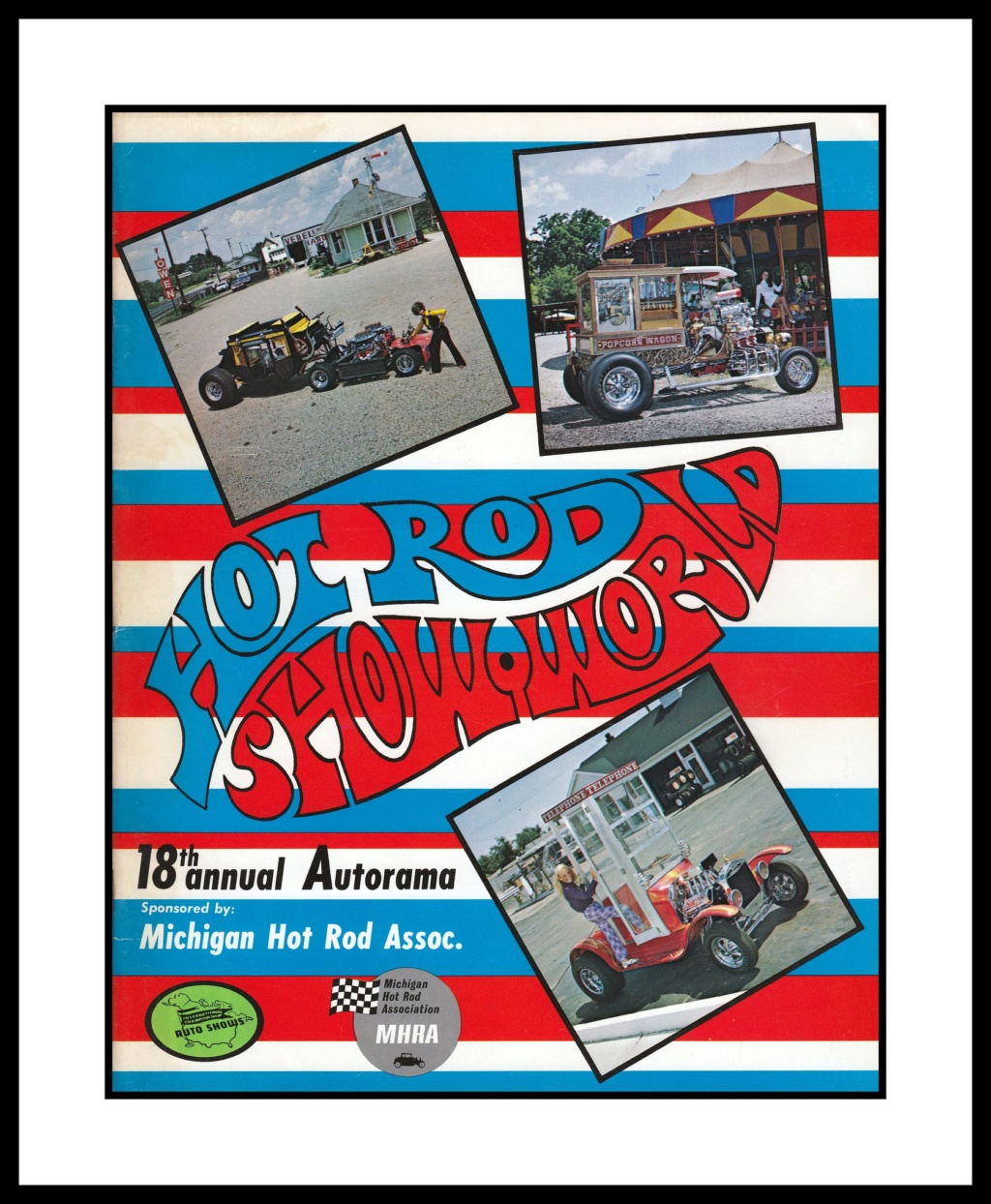 Hot Rod Show World Program, 1970 82389910