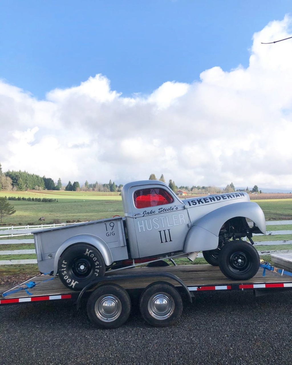 Willys pickup 1940- Gasser dragster - Hulster 3 82444910