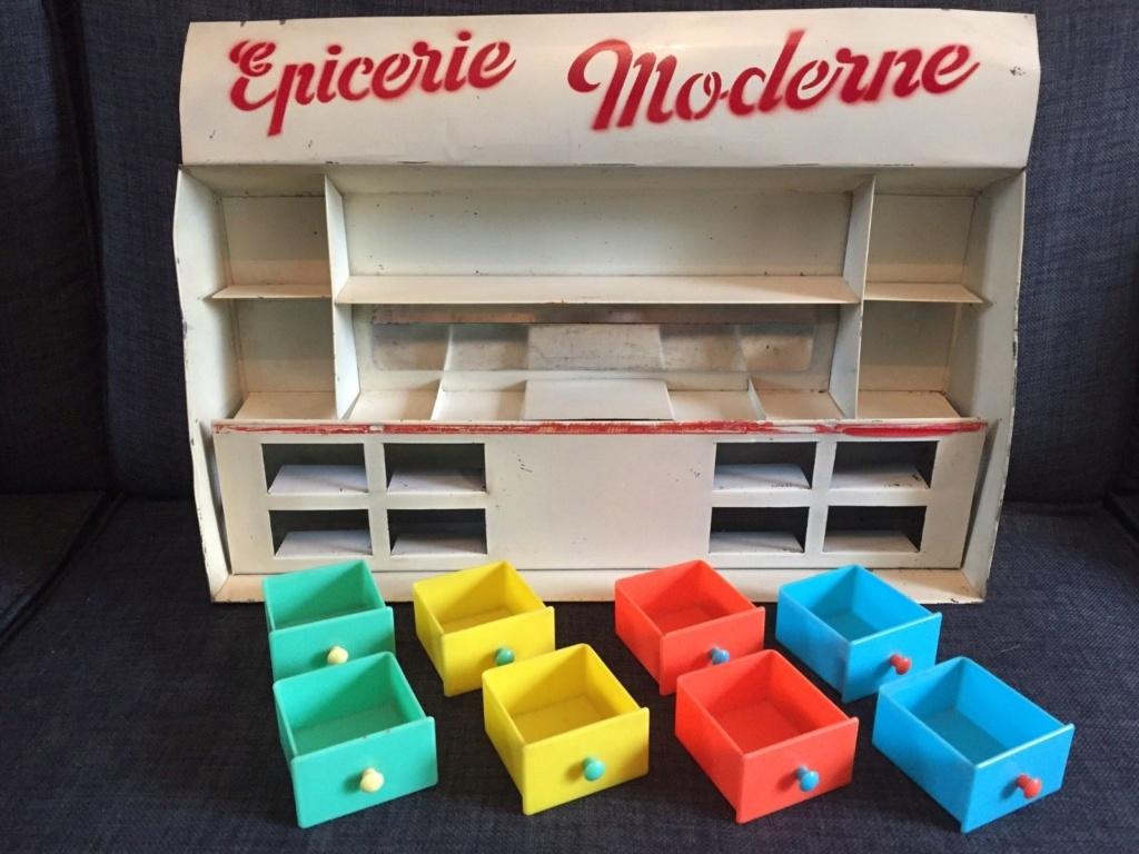 Epicerie jouet années 50 - Grocery toys vintage 826
