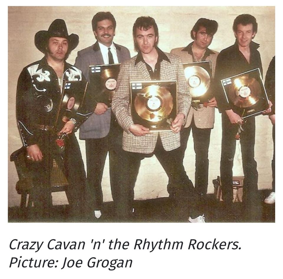 RIP Cavan Crogan The  king of British Rockabilly - 16 - 02 - 2020 - Crazy Cavan & Rhythm Rockers 87087310