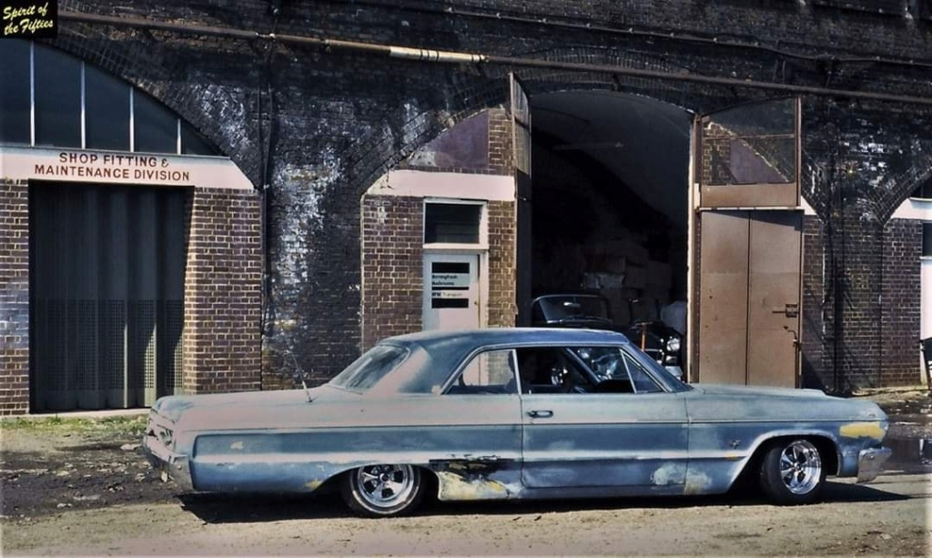 custom cars in the street - in situation ( vintage pics 1950's & 1960's)  - Page 6 87933410