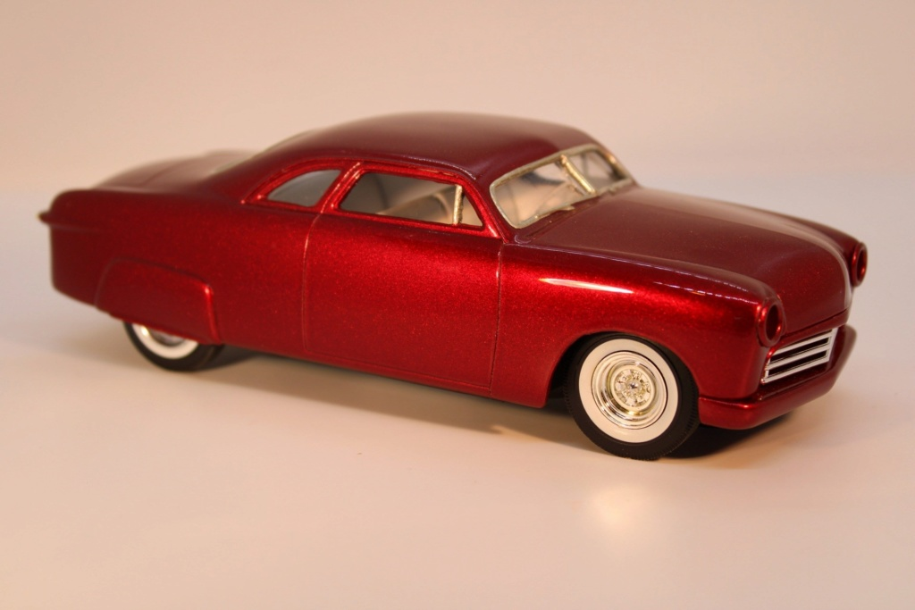 1949 Ford coupe - Customizing kit - Trophie series - 1/25 scale - Amt -  87936310