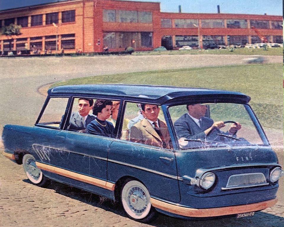 1958 Fiat 600 Multipla Mirafiori. 89531510