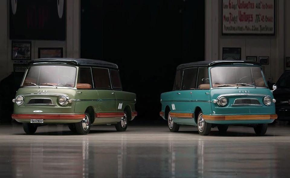 1958 Fiat 600 Multipla Mirafiori. 89770111