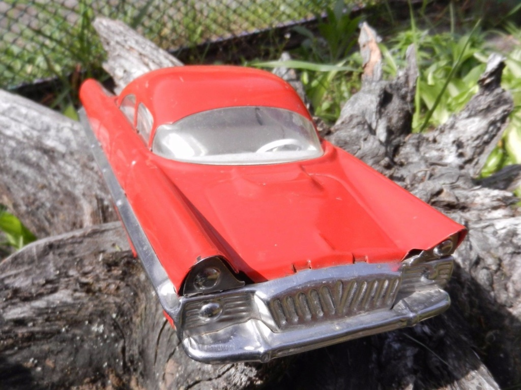 Old Soviet Rusian Vtg USSR TOY - gm motorama concept car style 8g10