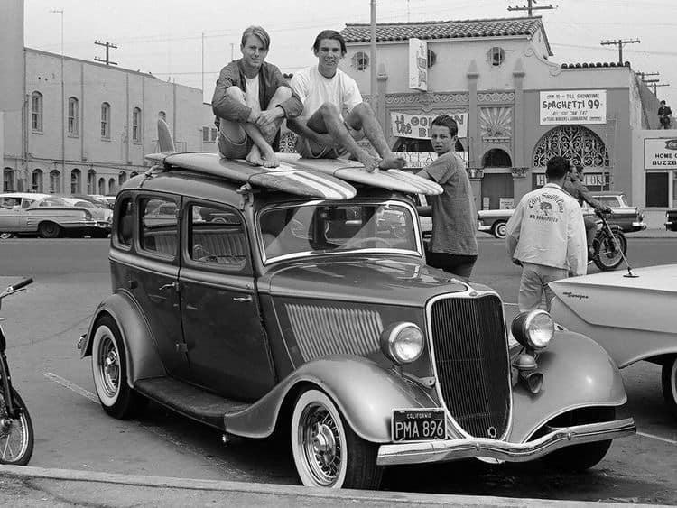 "Hot rod in street - Vintage pics - ""Photos rétros"" -  - Page 6 90440510"